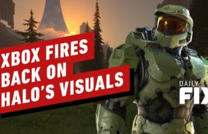 Xbox Fires Back On Halo Infinite's Visuals