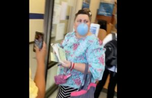 Woman filmed using anti-Asian slur against postal worker