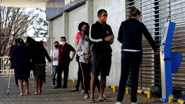 Brazil virus payout cuts extreme poverty to least in decades