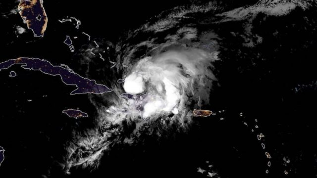 Isaias now a Category 1 hurricane, sets sights for Bahamas, eastern Florida