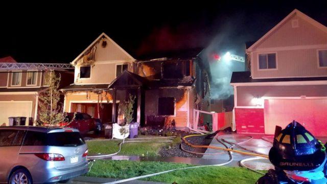 2 kids among 5 dead in Denver house fire, arson suspected