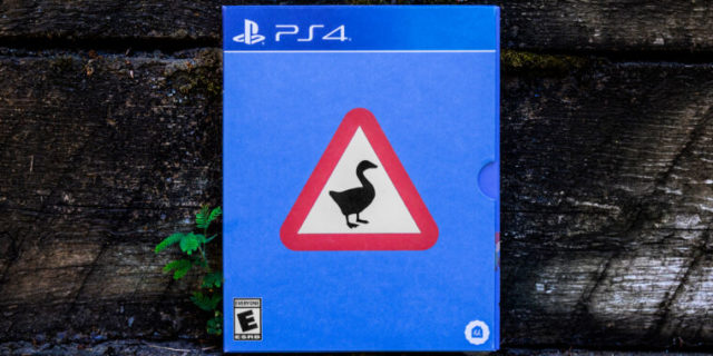 Untitled Goose Game ditches plastic for its eco-friendly game cases
