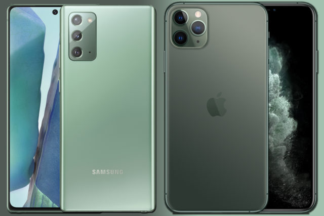 Samsung Galaxy Note 20 vs iPhone 11 Pro: This $1,000 spec showdown has a clear winner