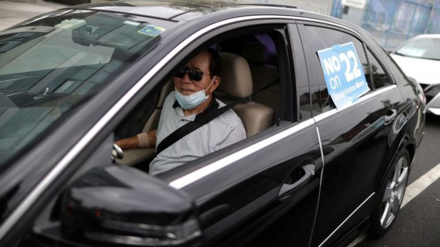 California judge orders Uber and Lyft to classify drivers as employees