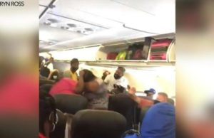 Caught on cam: Women wrestle over face mask on American Airlines flight to Charlotte