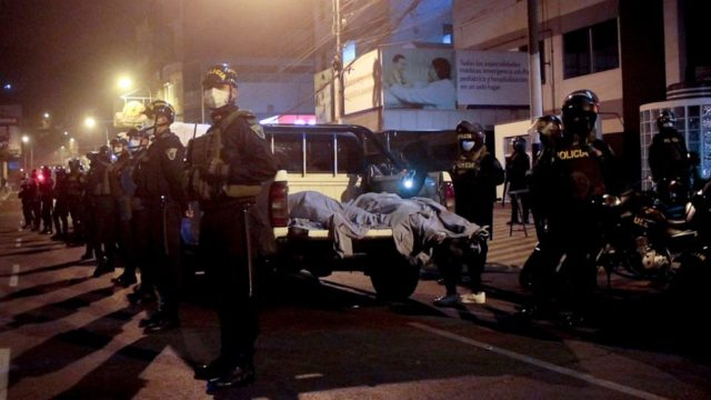 13 killed during stampede at illegal nightclub party in Peru, officials say