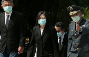 US envoy joins Taiwan president at military memorial