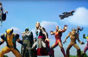 Fortnite's Chapter 2 season 4 Marvel cinematic and battle pass trailer