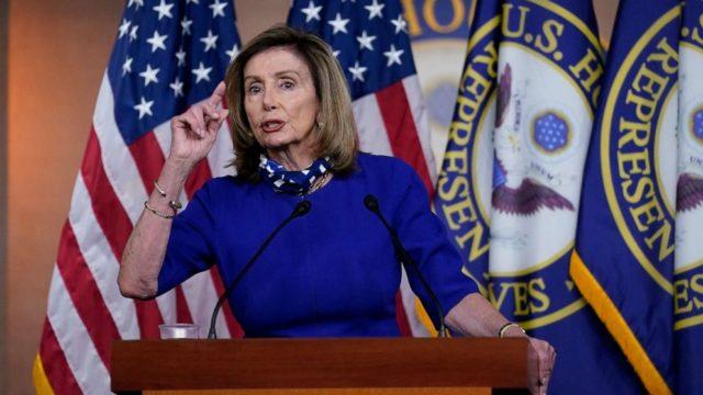 Speaker Pelosi says Biden shouldn't debate President Trump because he will 'belittle' the purpose