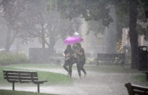 Laura remnants, cold front could bring severe weather to East Coast Saturday
