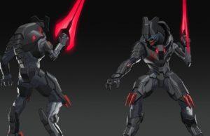 New Halo Infinite concept art shows an Elite blademaster and Mark VII Spartan armor