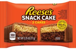 Reese's made a breakfast cake so you can have dessert in the morning