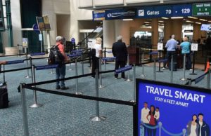 TSA reports busiest day for air travel since March