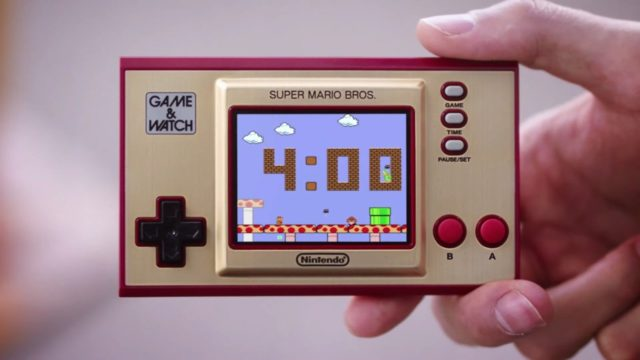 Video: Take A Closer Look At The New Game & Watch: Super Mario Bros. System