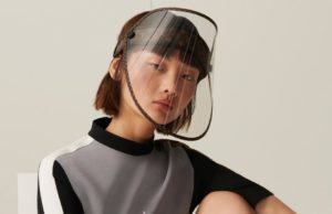 Louis Vuitton is releasing a face shield with golden studs to protect luxury buyers from coronavirus