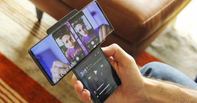 LG Wing hands-on: first impressions of LG's new dual-screen smartphone