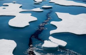 Warming shrinks Arctic Ocean ice to 2nd lowest on record