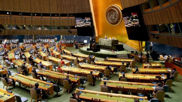 Trump bashes China at UN amid warnings against a world divided by two superpowers