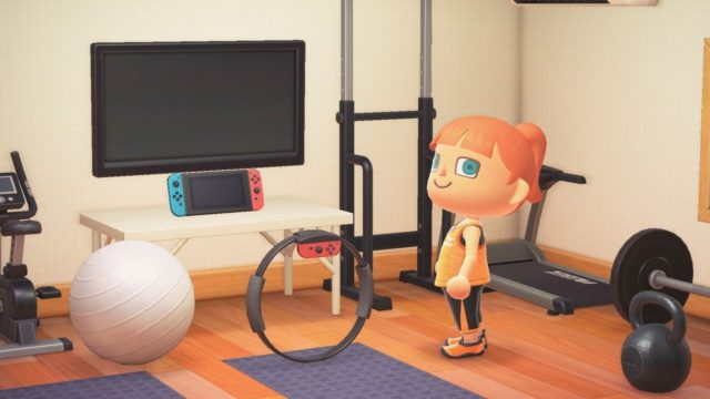 All Animal Crossing: New Horizons Players Will Receive A Ring Fit Adventure Item In-Game