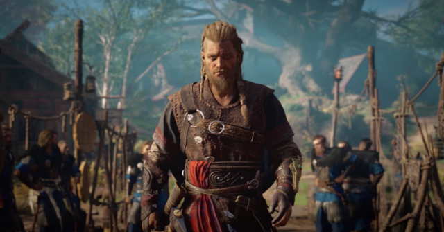 The Assassin's Creed Valhalla story trailer features the male Eivor
