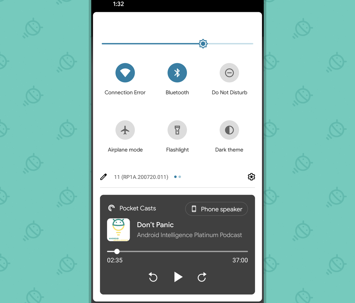 Android 11: media player