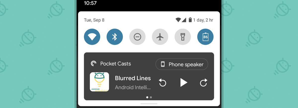 Android 11 Features: Media player