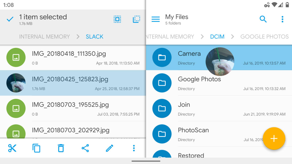 android file managers solid explorer