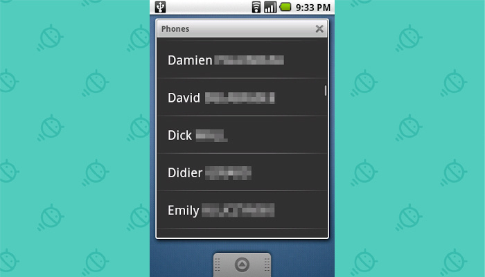 Old Android Features: Live Folders