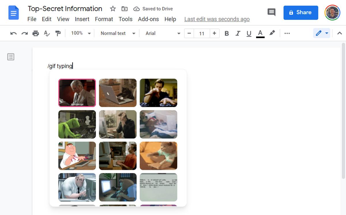 Google Docs Shortcuts (8)