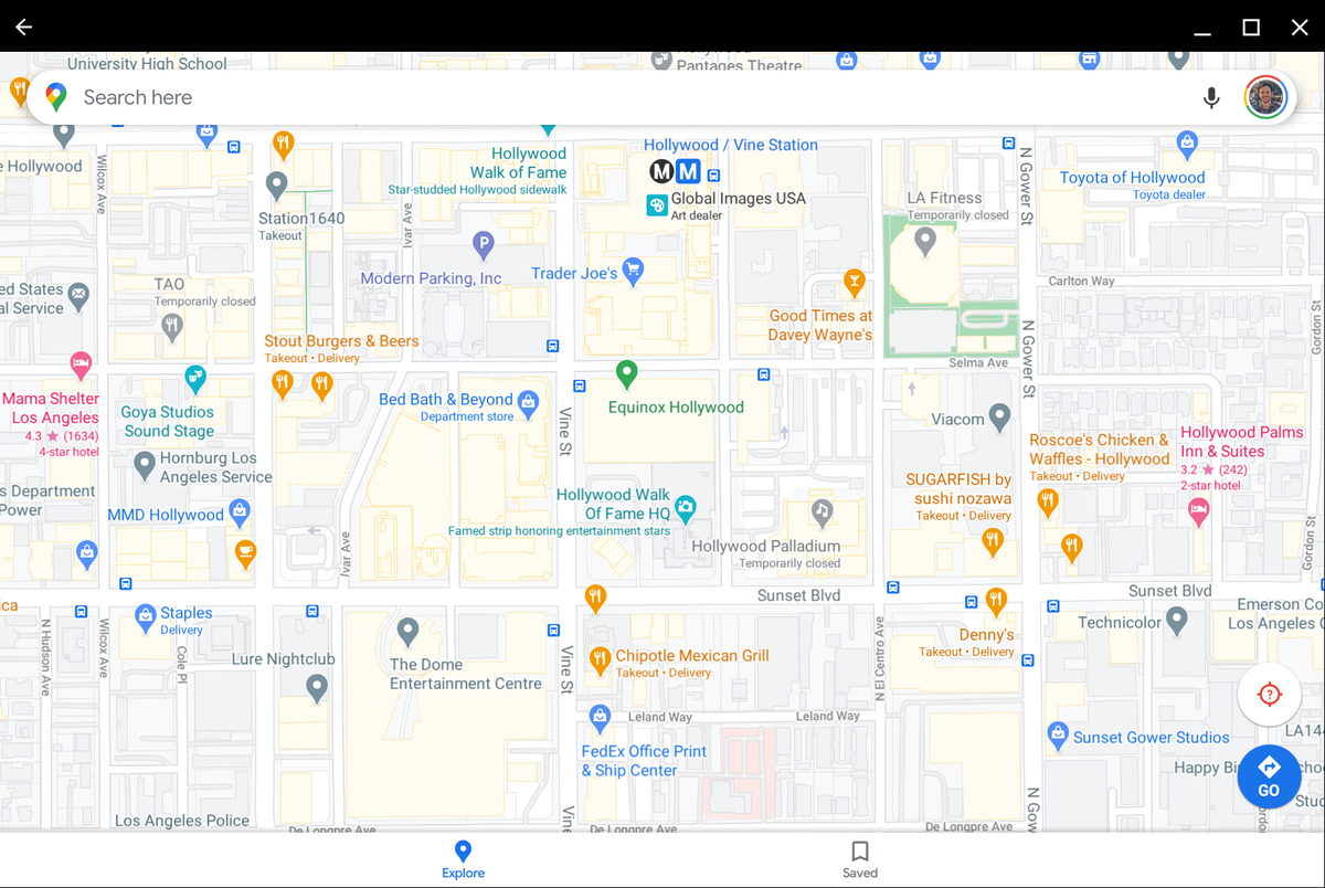 android apps chromebook google maps
