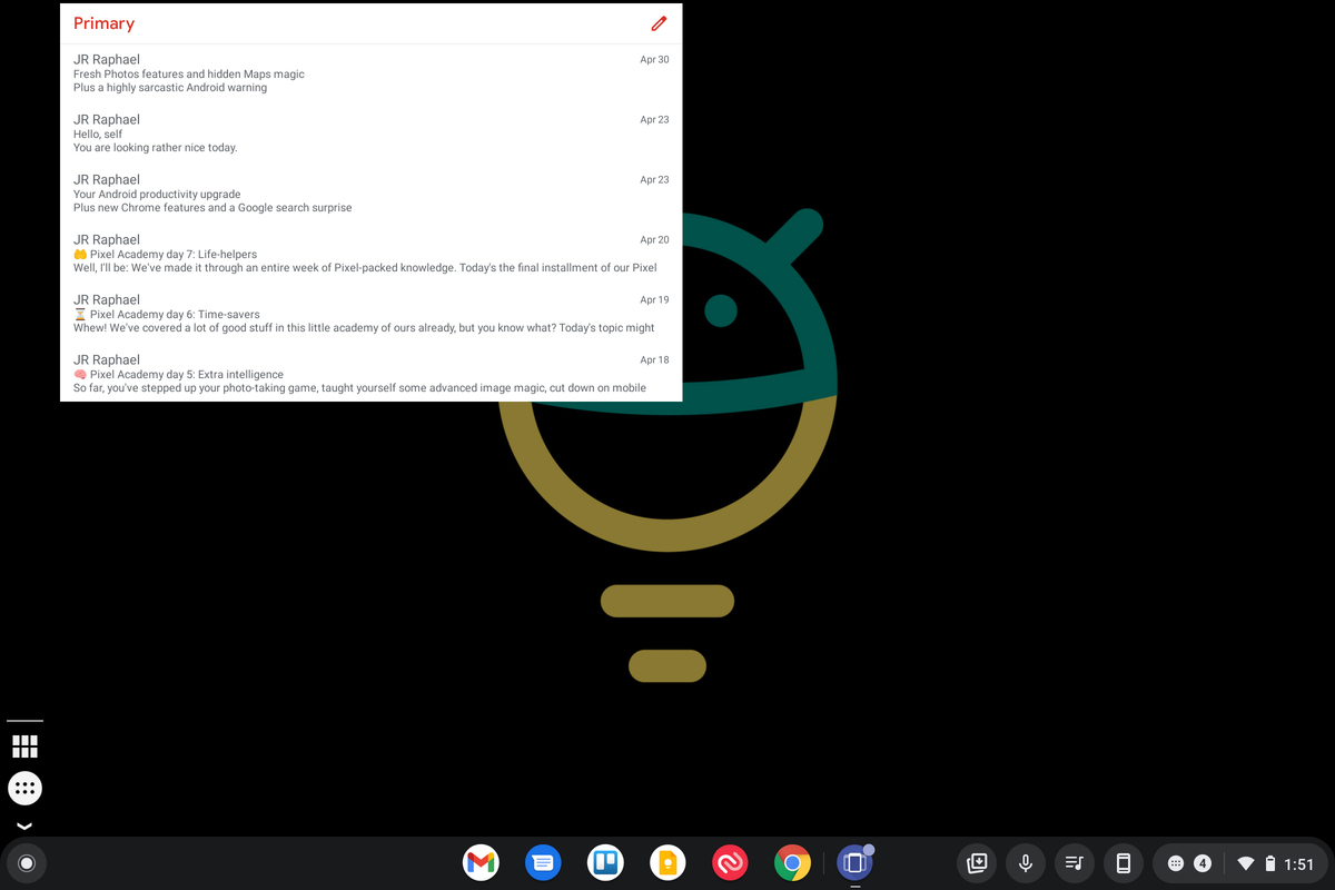 Chrome OS Widget Added
