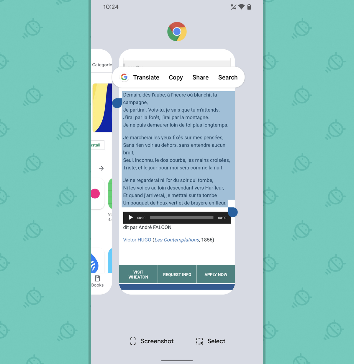 Pixel Features: Overview translate text