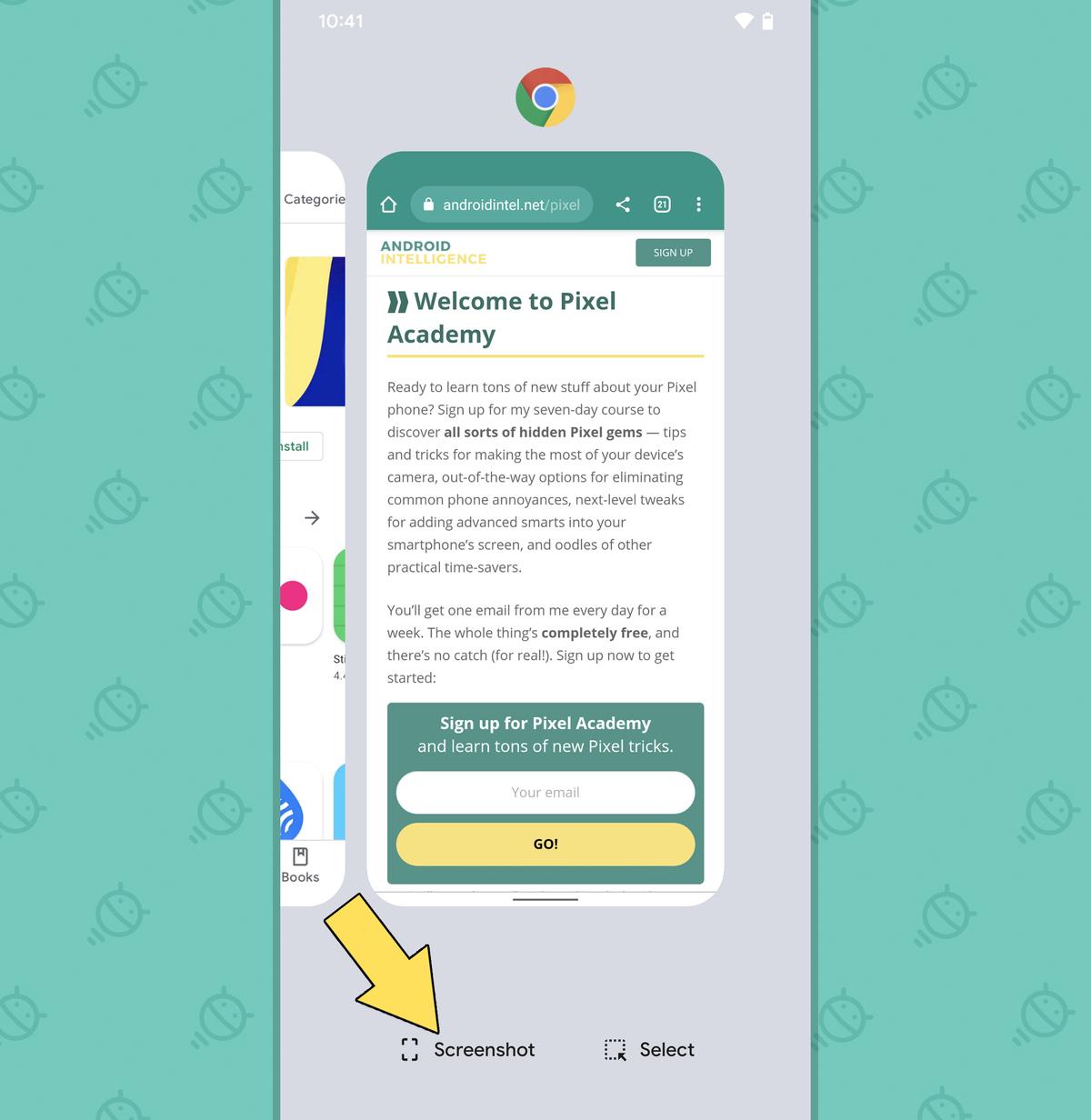 Pixel Features: Overview screenshot