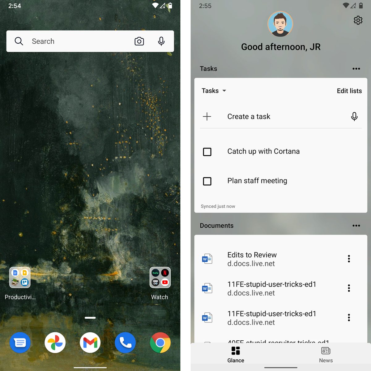 android launchers microsoft launcher