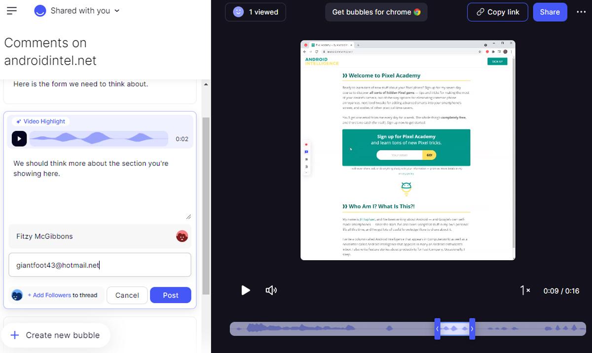 Chrome Collaboration: Bubbles (5)