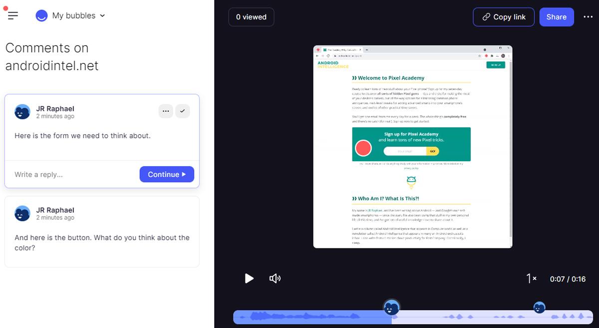 Chrome Collaboration: Bubbles (4)