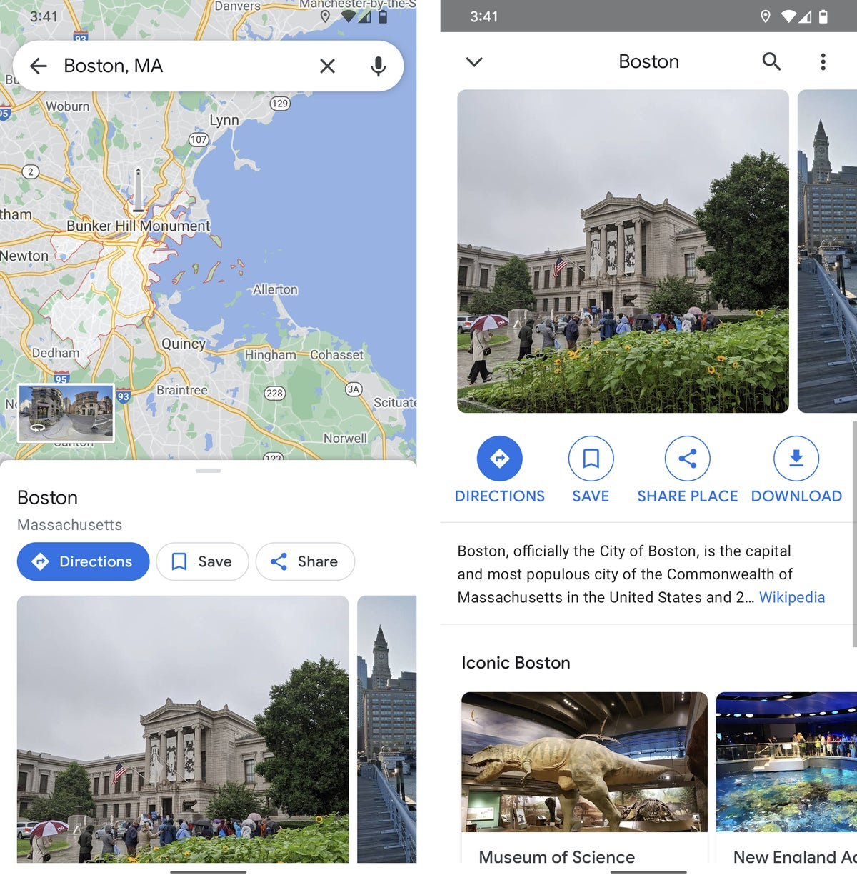 android data google maps 2021